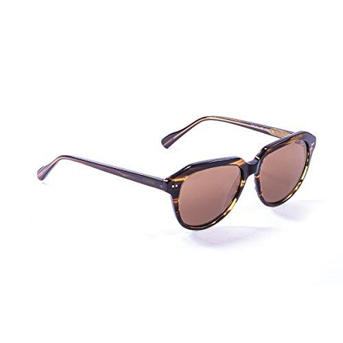 Lenoir Eyewear LE10000.3 Lunette de Soleil Mixte Adulte, Marron
