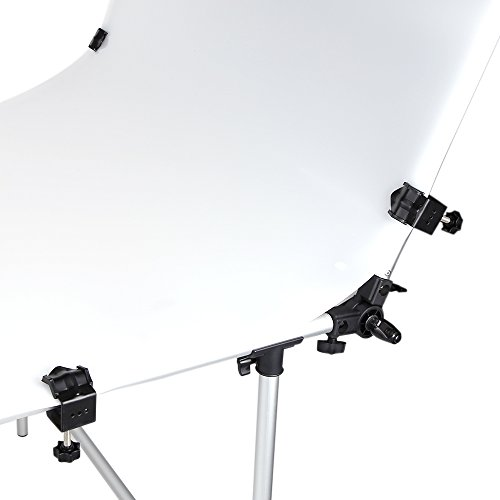Andoer 100 x 200cm Photo Studio Photography Shooting Table for Still Life Product Shooting Aluminum Alloy Frame by Andoer (Image #6)