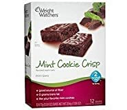 Weight Watchers Mint Cookie Crisp Bars