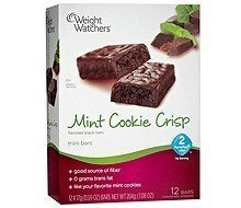 Mint Weights (Weight Watchers Mint Cookie Crisp Bars)
