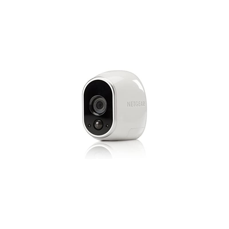 Arlo Technologies Certified Refurbished VMC3030-100NAR Security Camera - Add-on Wire-Free HD Camera [Base Station not included], Indoor/Outdoor, Night Vision and Works with Alexa