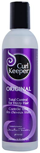 CURLY HAIR SOLUTION Curl Keeper Original - Total Control In All Weather Conditions For Well Defined, Frizz-Free Curls With No Product Build Up (8 Ounce /240 Milliliter) by Curly Hair Solutions