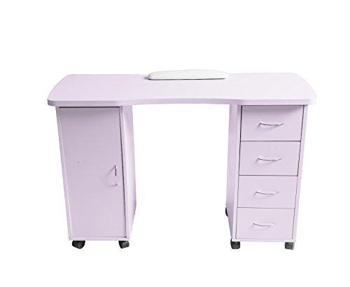 ExacMe Slightly purple Manicure Nail Table Station Desk Spa Beauty Salon Equipment 400/600 (600) by BarberPub (Image #7)