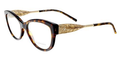 BURBERRY Eyeglasses BE 2210 3002 Havana 53MM