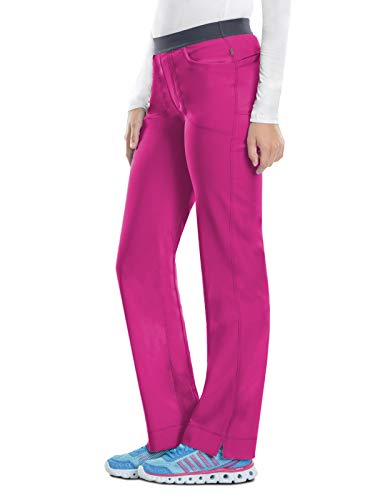 Scrubs Cherokee Infinity Low-Rise Slim Pull-on Pant 1124A Royal FREE SHIPPING