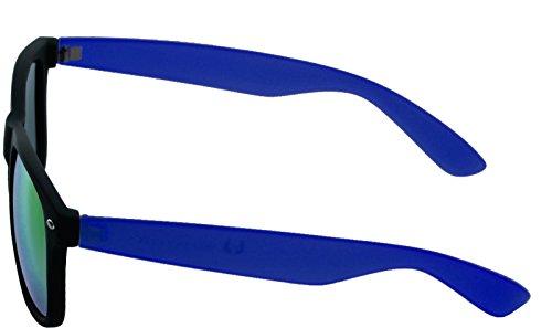 Black Royal 4690 Soleil Mixte Multicolore Lunettes MSTRDS Mirror Blue Likoma Mehrfarbig de wAqx8pfz