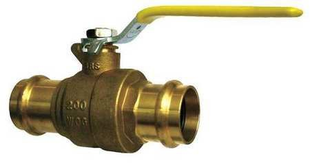 3'' Press Brass Ball Valve Inline by Materro
