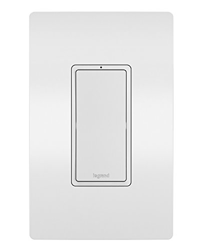 Legrand - Pass & Seymour Radiant Smart WWRL10WH Wi-Fi Enabled Switch, White