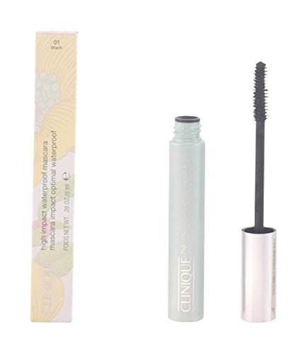 Clinique High Impact Water Proof Mascara for Women, Black, 0.28 oz 0020714494940 42009_-8ml
