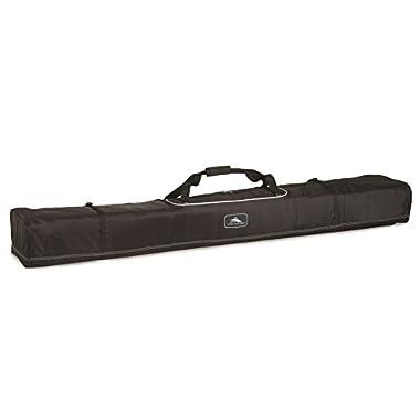 High Sierra Basic Double Ski Bag -Unpadded Ski Bag, Black - 185Cm