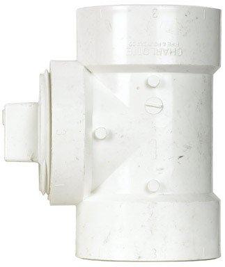 "MUELLER INDUSTRIES GIDDS-92111 DWV PVC Test Tee With Plug 2"""