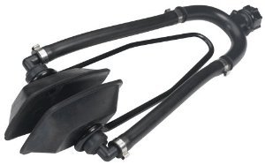 Boat Marine DUAL FLOW (BOTH INLETS!) SQUARE MOTOR FLUSHER EARS for Outboards, I/O's, Sterndrives & Outdrives: with Garden Hose Connector