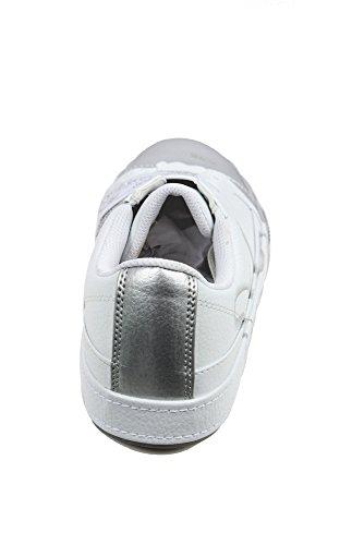 Rocawear Tauch Zeh ohne Spitze Damen Silber Turnschuhe Silber/Weiß