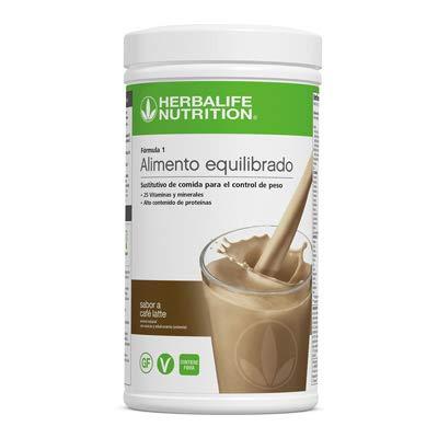 Formula One Nutritional Shake Mix Canister - Cafe Latte Flavor