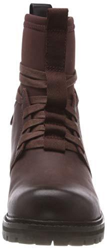 Femme star 6485 Boot Rouge Raw Sock Deline dk Bordeaux G Botines Aq1YSw14