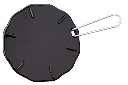 Ilsa Heat Diffuser, Made in Italy from Cast Iron, Flame Guard for Simmering, 7-inches
