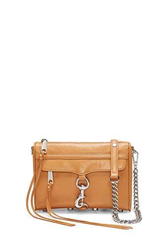 Rebecca Minkoff Mini MAC Convertible Cross-Body Handbag, Honey, One Size