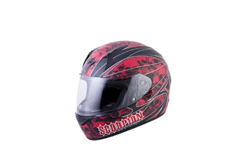 Scorpion EXO R410 Underworld Full Face Motorcycle Helmet blood small