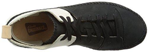 5 Femme Nbk Clarks black Trigenic Flex Noir Combi Beige maple Basses 35 Sneakers Eu RO8IwSFq
