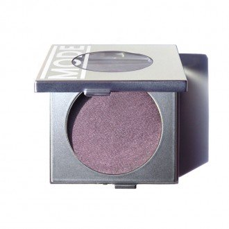 MODE Cosmetics, Eyeshadow Absolute, FAVORED BY QUEENS (Frost Pearl Coppered Purple) Natural Pressed Powder Eye Shadow/Potent Color/Exceptional Wear/Pink Peony + Areni Noir Wine Skincare/Vegan/USA - Stores In Ny Queens