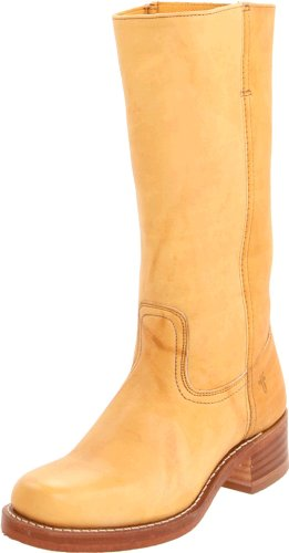 FRYE Women's Campus 14L Boot, Banana, 7 M US