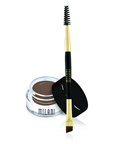 Milani Stay Put Brow Color, Dark Brown, 0.09 Ounce