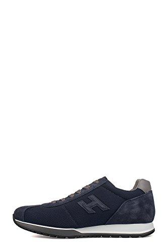 Hogan Sneakers Uomo HXM3210Y150FJS690F Pelle Blu