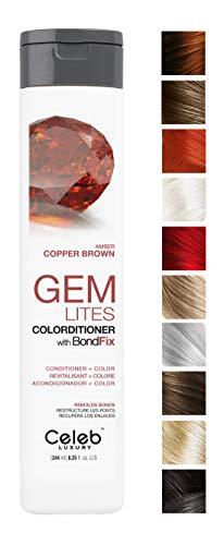 Celeb Luxury Gem Lites Colorditioner: Amber Copper