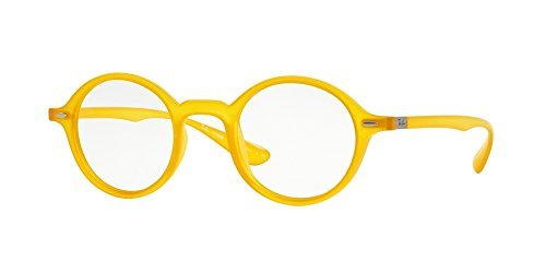 Ray-Ban Vista RX 7069 5519 Eyeglasses Opal Matte Yellow