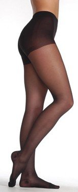 Juzo Attractive 12-16 mmHg Mild Compression Pantyhose 5000AT in Champagne Champagne Regular V Closed (Pantyhose Champagne)