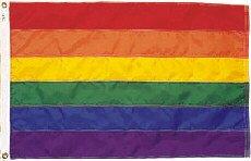 Rainbow Flag Nylon 2 ft. x 3 ft.