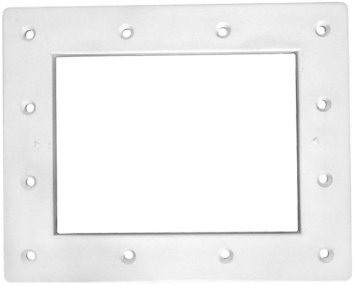 - Pentair 516264 White Standard Throat Face Plate Replacement Kit Bermuda Gunite and Vinyl Liner Skimmer