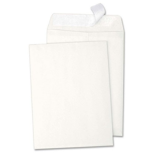 "cheap Sparco Catalogue Envelopes - 6"" x 9"" - 28lb - Self-sealing - Wove - 100 / Box - White"