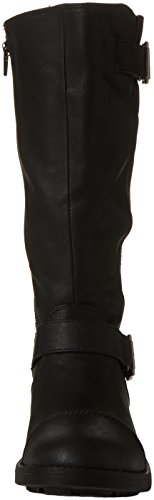Black Botas Terry Dog black Mujer De Rocket Motorista Para pSgwnq6
