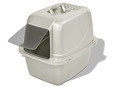 Van Ness CP6 Enclosed Cat Pan/Litter Box, Large, Colors may vary from Van Ness Products