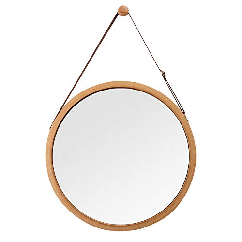 Hanging Oval Mirror Bathroom Bedroom