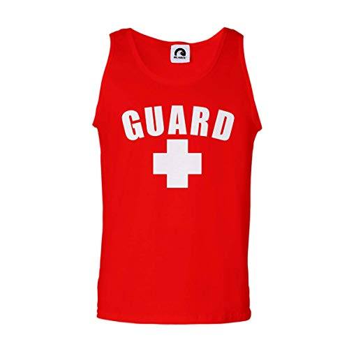 Guard Tank Top (Red, Small)