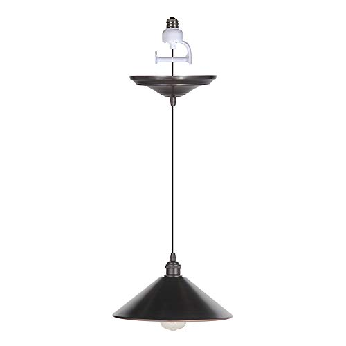 Worth Home Products PKN-7466-9550 Instant Pendant Light for Shades Single Light 11