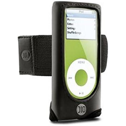 DLO Action Jacket Armband Case for iPod nano 1G, 2G (Black) (Discontinued by Manufacturer) - Dlo Action Jacket Soft Case