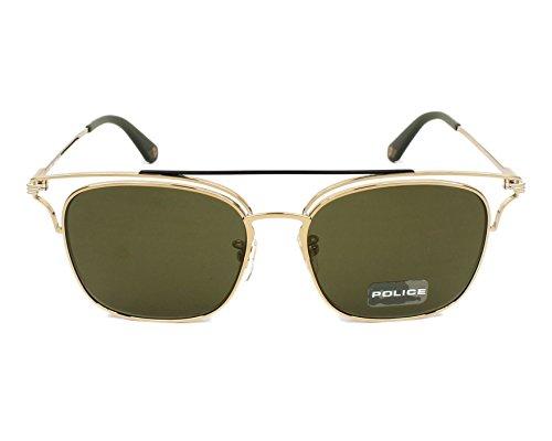 Soleil Unisexe Empire Pale Gold Spl575 Gold 1 Lunettes De Police green H29IDWEY
