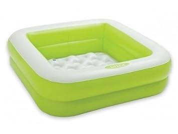 Intex   57100npb   baignoire de douche gonflable verte pour bébé