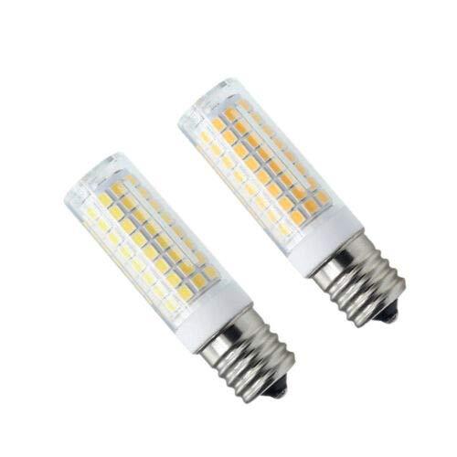 FidgetKute 2pcs/10pcs E17 Base C9 LED Bulb 102-2835 Ceramics Light 110V 9W Microwave Bulb White (6000~7000K) 10pcs One Size by FidgetKute (Image #1)