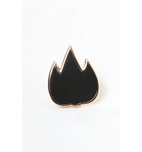 Pintrill Mens Flame Pin