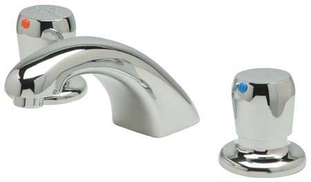 (Zurn Brass Low Profile Bathroom Faucet, Push Handle Type, No. of Handles: 2 - Z867RO-XL)