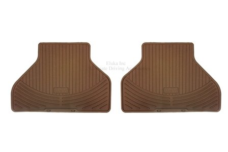BMW REAR Beige 3 Series E93 2 Door Convertible All Season Floor Mats 2006-2012 Genuine OEM 82550427273 (set of 2 rear -