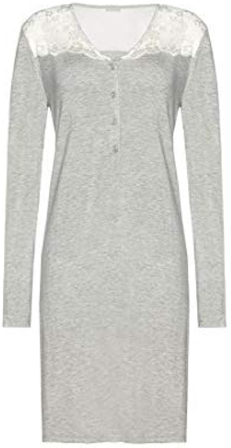 Yamamay Camicia Da Notte Maniche Lunghe Primula Amazon It Abbigliamento
