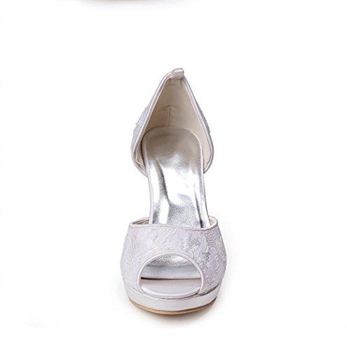 Kevin Fashion , Chaussure de mariée fashion femme - beige - Beige - marfil, 43 EU