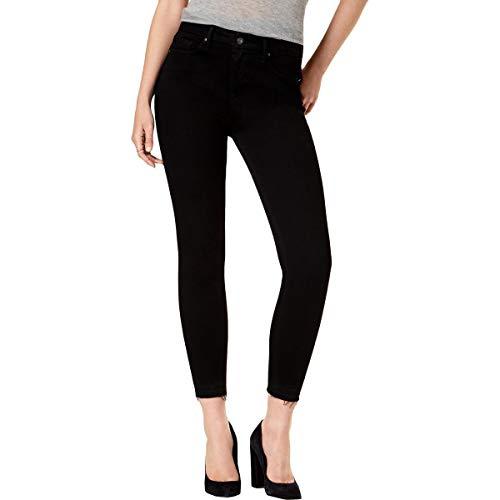 Jessica Simpson Womens Adored Curvy High Rise Skinny Jeans Black ()