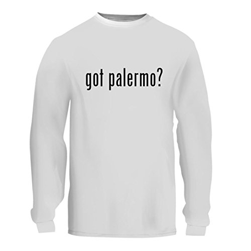 fan products of got palermo? - A Nice Men's Long Sleeve T-Shirt Shirt, White, Large