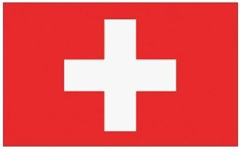 Flaggenking Schweiz Flagge/Fahne, weiß, 150 x 90 x 1 cm, 16896 ...